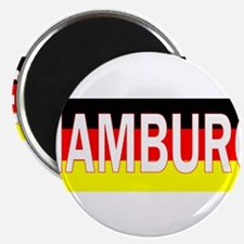 "Hamburg, Germany 2.25"" Magnet (100 pack)"