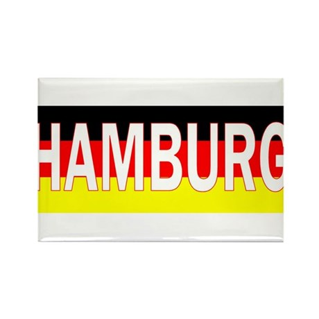 Hamburg, Germany Rectangle Magnet