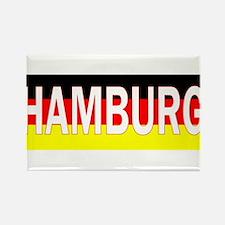 Hamburg, Germany Rectangle Magnet (100 pack)