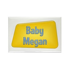 Baby Megan Rectangle Magnet