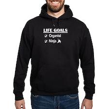 Organist Ninja Life Goals Hoodie