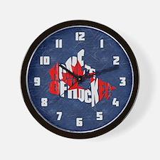 Canada Home of Hockey Wall Clock