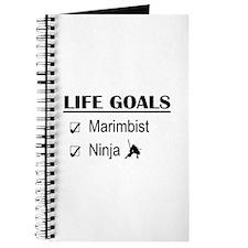 Marimbist Ninja Life Goals Journal