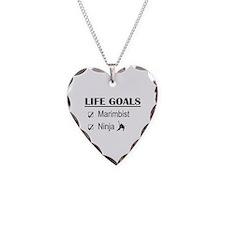 Marimbist Ninja Life Goals Necklace
