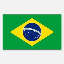 Brazil Flag Bumper Stickers