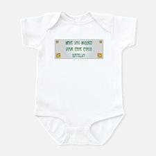 Hugged Corso Infant Bodysuit