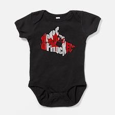 Canada Home of Hockey Baby Bodysuit