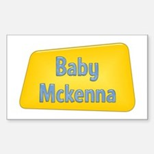 Baby Mckenna Rectangle Decal