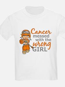 Combat Girl Leukemia T-Shirt