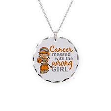 Combat Girl Leukemia Necklace