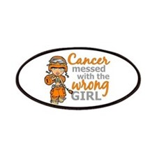 Combat Girl Leukemia Patches
