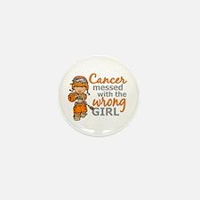 Combat Girl Leukemia Mini Button (10 pack)