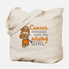 Combat Girl Leukemia Tote Bag