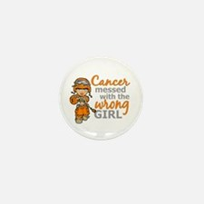 Combat Girl Kidney Cancer Mini Button (10 pack)