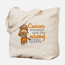 Combat Girl Kidney Cancer Tote Bag