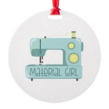 Material Girl Ornament