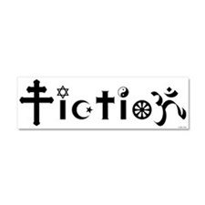 Cute Secular Car Magnet 10 x 3
