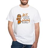 Ms wrong girl Mens White T-shirts