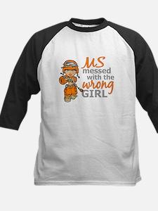 Combat Girl MS Kids Baseball Jersey