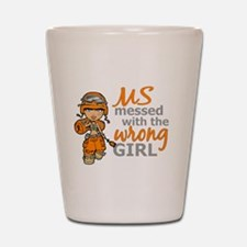 Combat Girl MS Shot Glass