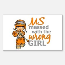 Combat Girl MS Decal