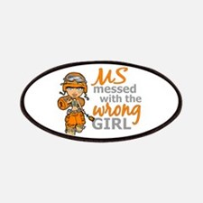 Combat Girl MS Patches