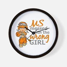 Combat Girl MS Wall Clock