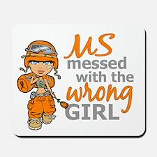 Combat Girl MS Mousepad
