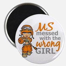 "Combat Girl MS 2.25"" Magnet (100 pack)"
