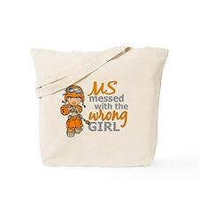 Combat Girl MS Tote Bag