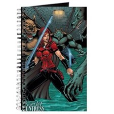 Scarlet Huntress vs Werewolves Journal