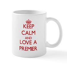Keep Calm and Love a Premier Mugs