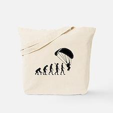 Evolution Skydiving Tote Bag