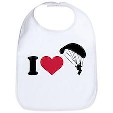 I love Sky diving Bib