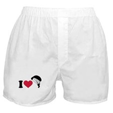 I love Sky diving Boxer Shorts