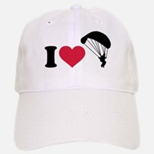I love Sky diving Baseball Baseball Cap