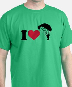 I love Sky diving T-Shirt