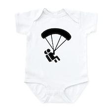 Skydiving tandem Infant Bodysuit