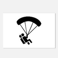 Skydiving tandem Postcards (Package of 8)