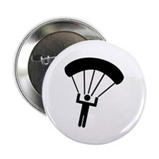 """Skydiving icon 2.25"""" Button (10 pack)"""