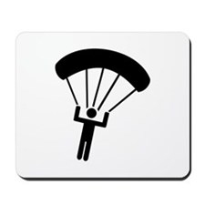 Skydiving icon Mousepad