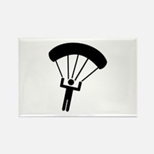 Skydiving icon Rectangle Magnet