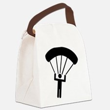 Skydiving icon Canvas Lunch Bag