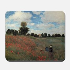 A Field of Poppies Mousepad