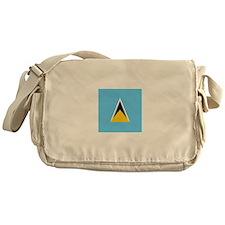 Flag of Saint Lucia Messenger Bag