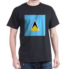 Flag of Saint Lucia T-Shirt