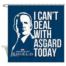 Can't Deal with Asgard Shower Curtain