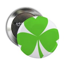 """Ugly Shamrock 2.25&Quot; 2.25"""" Button"""