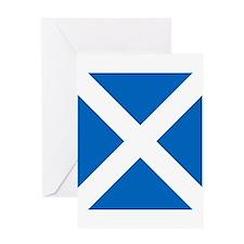 Flag of Scotland Greeting Cards