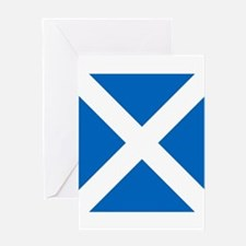 Flag of Scotland Greeting Cards
